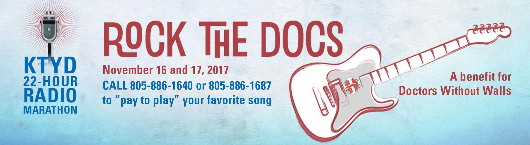 KTYD Rock the Docs Radioathon